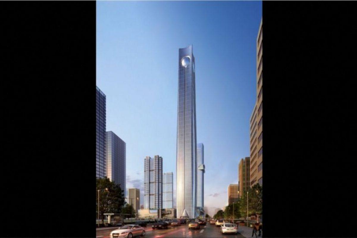 6. Pearl of the North en China. Se completará en 2018, tendrá 113 pisos y una altura de 567 metros (1863 pies) Foto: Atkins – Skyscrapercenter.com. Imagen Por: