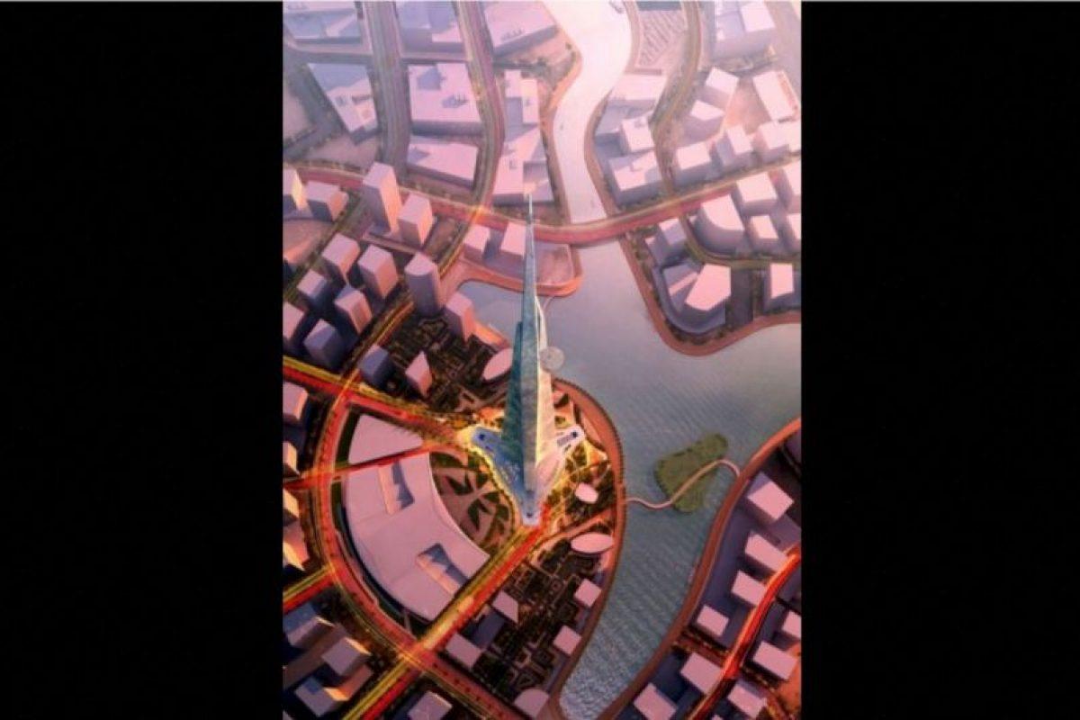 Este será el edificio más alto del mundo Foto:Adrian Smith + Gordon Gill Architecture – Skyscrapercenter.com. Imagen Por: