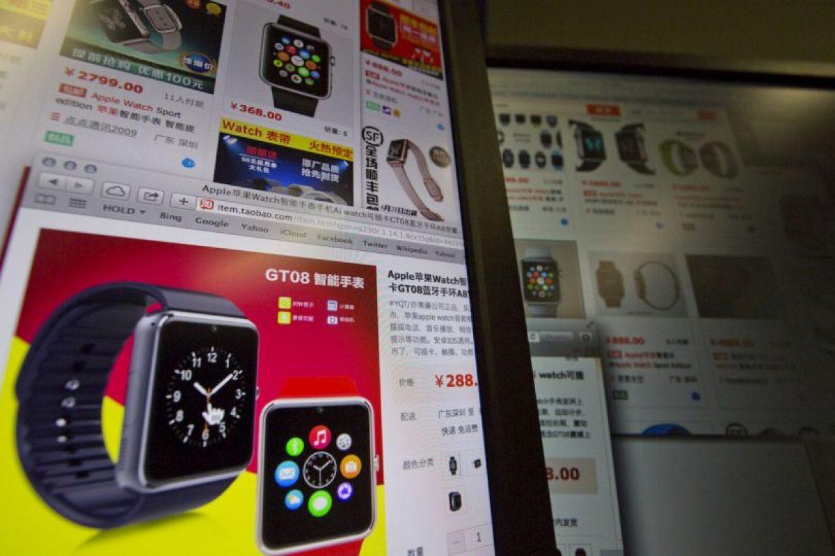En China, ya existen imitaciones del Apple Watch puestas a la venta. Foto:AP Exchange Photos. Imagen Por: