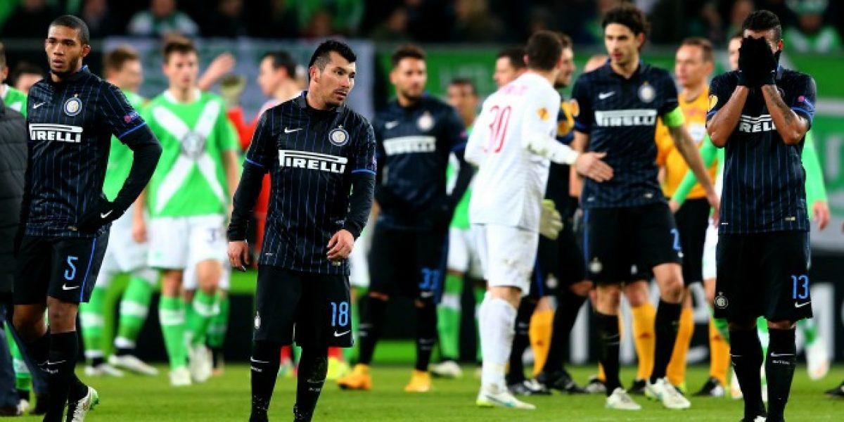 El Inter de Medel se complica en la Europa League al caer ante Wolsburgo
