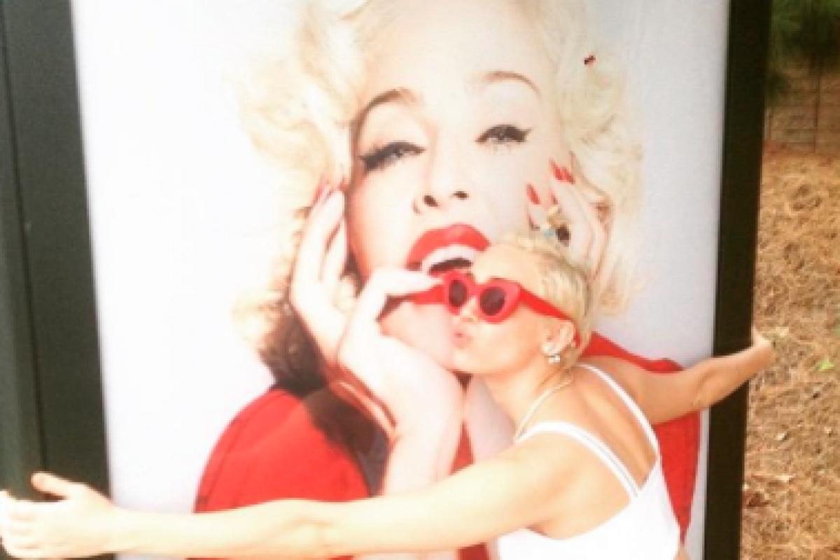 . Imagen Por: Vía Twitter @Madonna