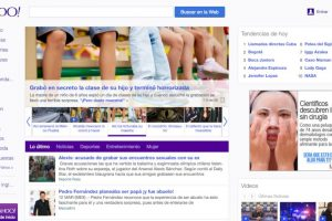También Yahoo ingresó al mundo de las redes y comunidades en línea. Foto:Vía Yahoo. Imagen Por: