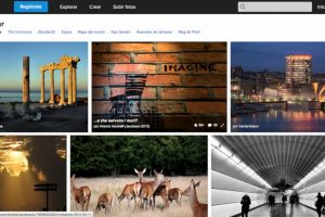 Esta es la página de inicio de Flickr. Foto:Vía Flick. Imagen Por: