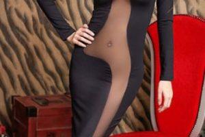 """Pero en los años 40, por la guerra, el tallaje cambió y ahora están los números que conocemos hoy, haciendo que los vestidos se confeccionaran en masa. De esta manera cada cuerpo debía """"ajustarse"""" a la talla. Y por supuesto, debido al auge de la delgadez ahora las mujeres tienen dos opciones: o ajustan su cuerpo para caber en el vestido o comprar una talla más pequeña. Foto:Taobao.com. Imagen Por:"""