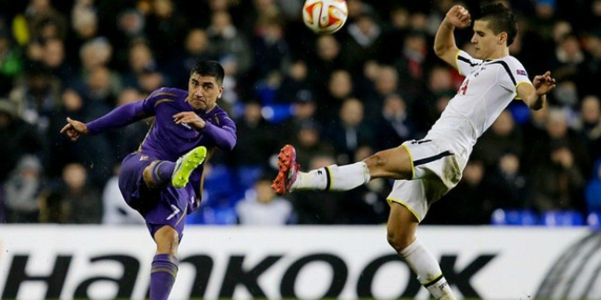En Italia elogian a Pizarro pero lanzan duras críticas al nivel de Matías Fernández