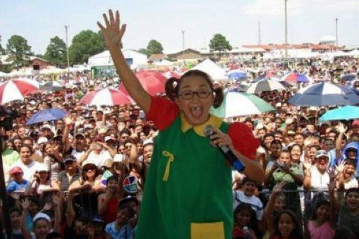 . Imagen Por: Facebook La Chilindrina Sitio Oficial