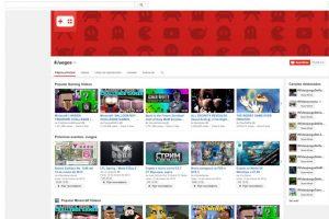 Así se ve YouTube juegos. Foto:Vía YouTube. Imagen Por: