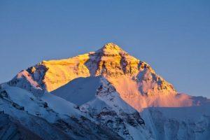 Atardecer en la punta del Everest. Foto:Vía Google Maps. Imagen Por: