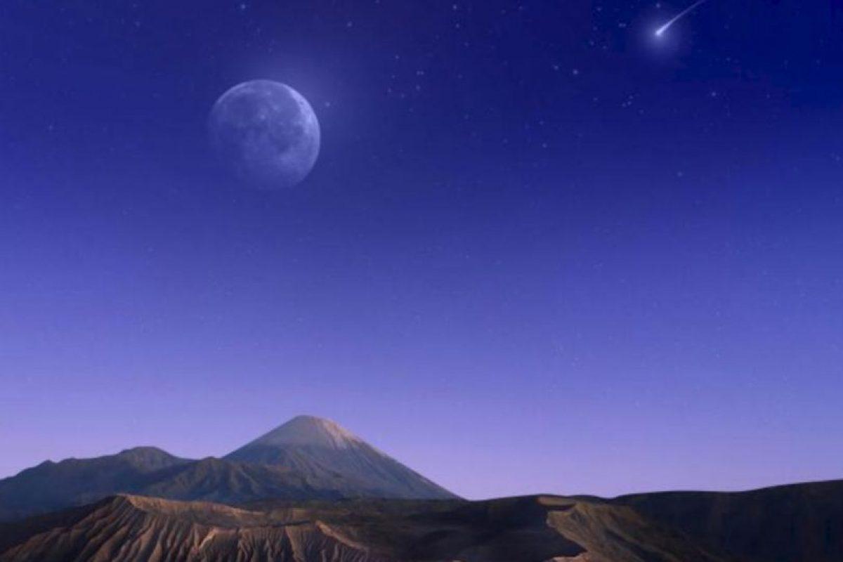 Foto cósmica de la montaña. Foto:Vía Google Maps. Imagen Por: