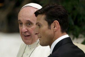 """""""Yo no quise ser Papa"""", reconoció al ser cuestionado sobre si había aspirado al puesto actual. Foto:AP. Imagen Por:"""