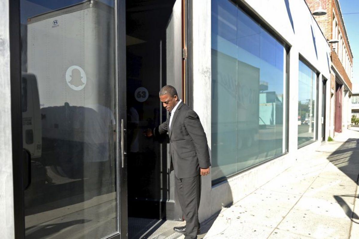 Así luce el cuartel general del equipo Snapchat. Foto:Getty Images. Imagen Por: