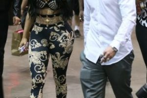 Nicki Minaj y Casper Smart Foto:Getty Images. Imagen Por: