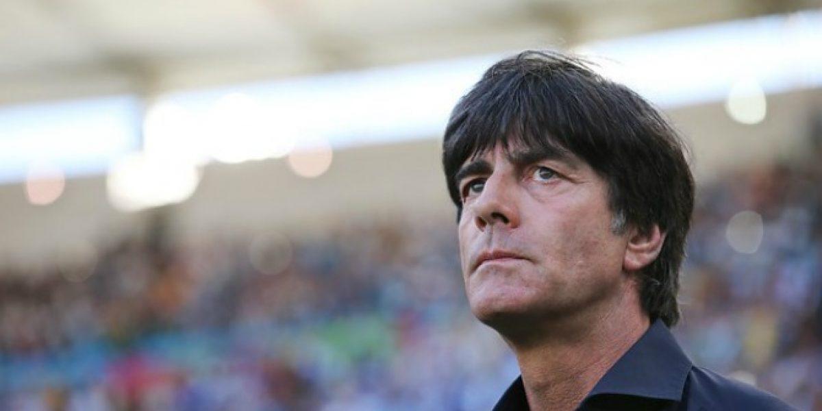 ¿Quiere el bicampeonato? Joachim Löw renueva como entrenador de Alemania
