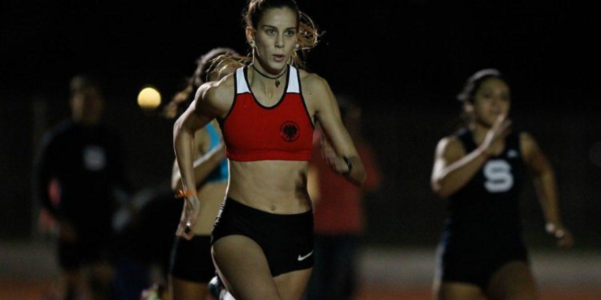 Isidora Jiménez bate récord nacional en los 100 metros planos