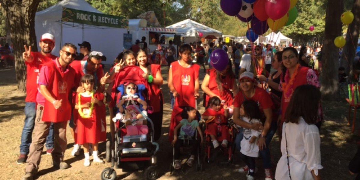 Niños terminales y con graves patologías también gozaron de Lollapalooza
