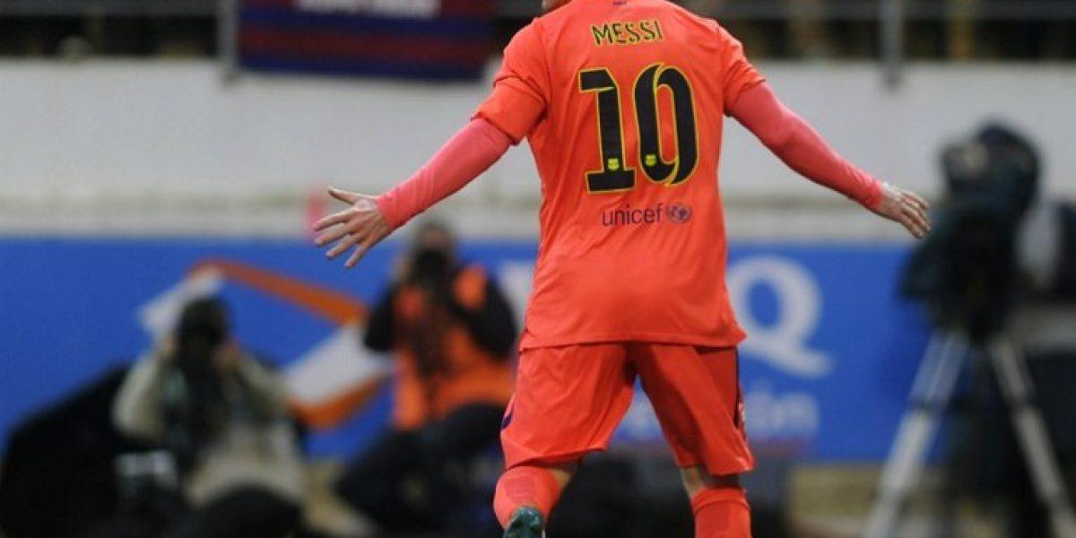 Messi superó a Ronaldo y es el nuevo
