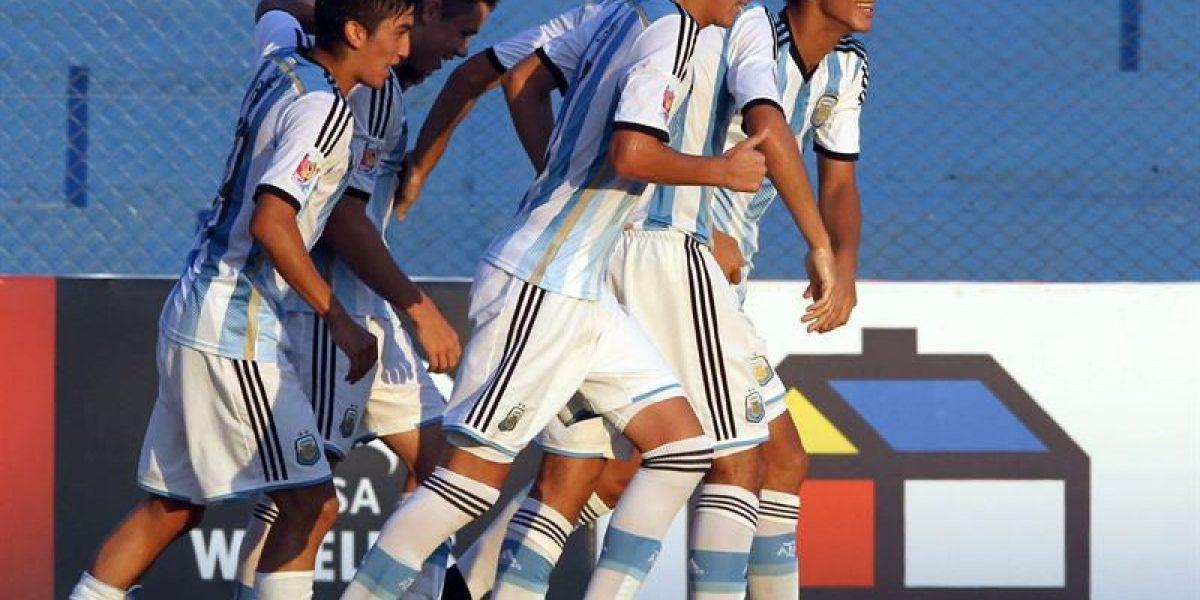 Fracaso: Roja Sub 17 se despidió del Sudamericano con derrota ante Argentina