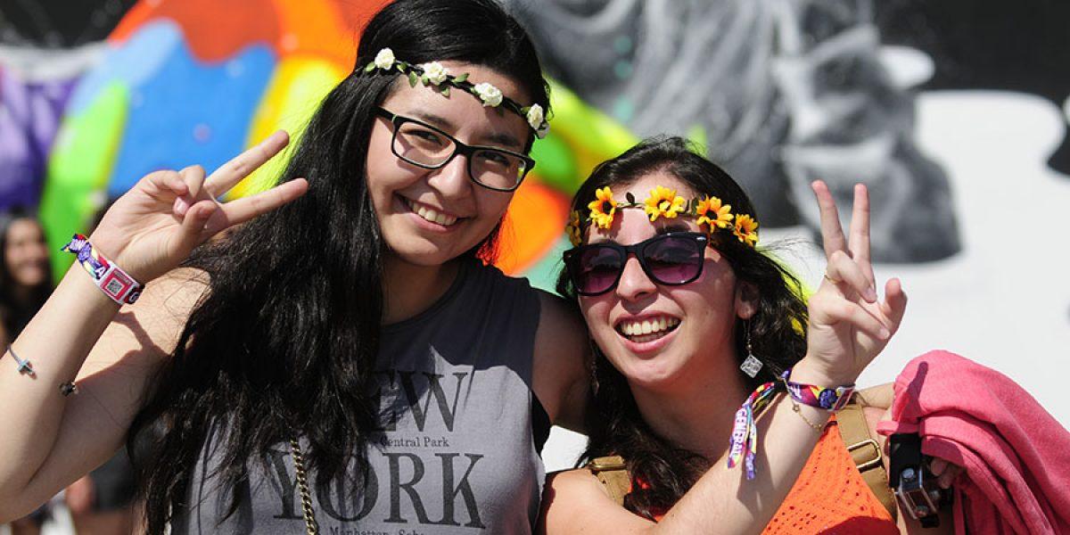 Galería: Estos son los mejores look de Lollapalooza Chile 2015
