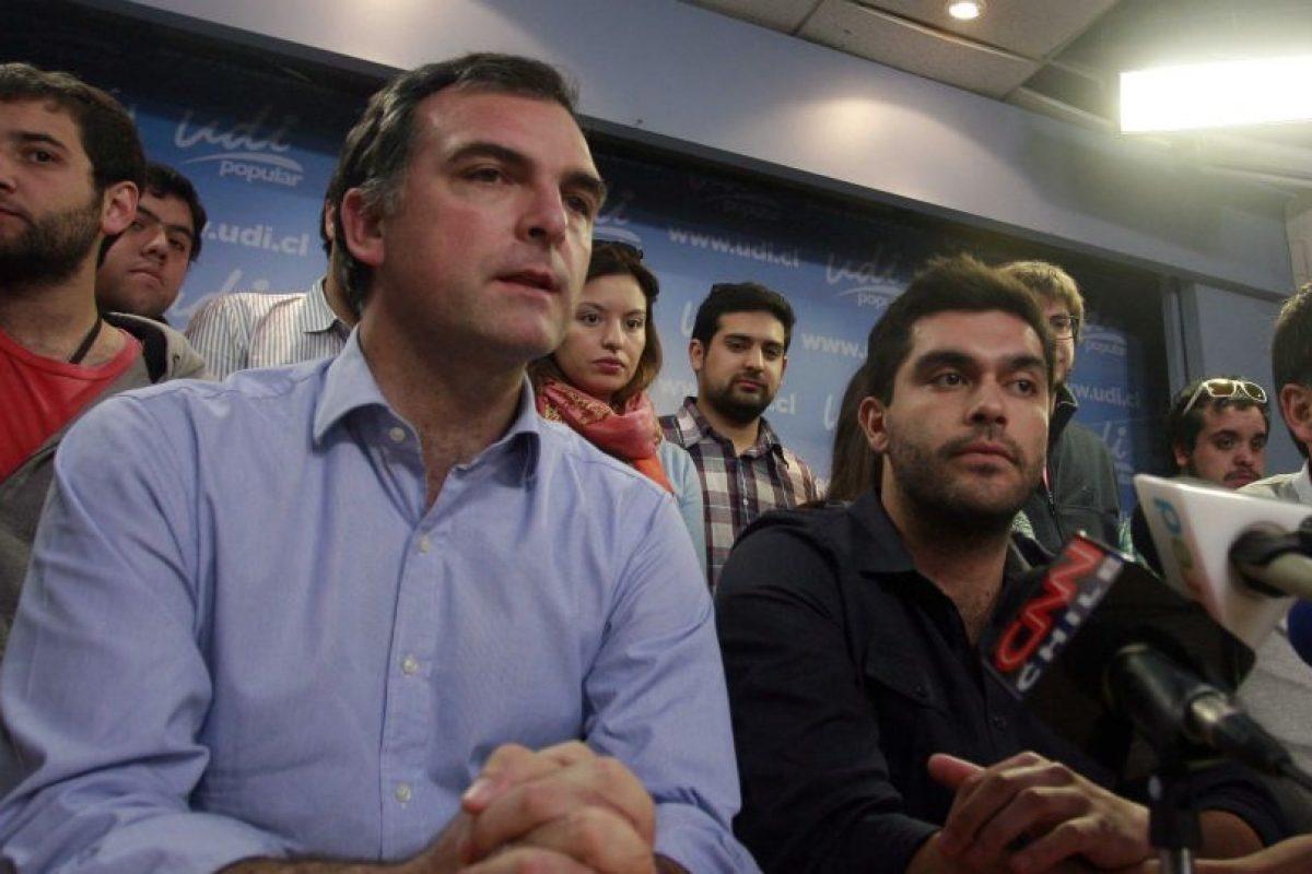 Felipe Cuevas y Ernesto Silva Foto:Agencia Uno. Imagen Por: