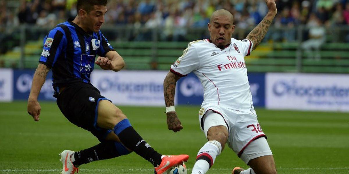 Carlos Carmona salió expulsado en empate sin goles del Atalanta