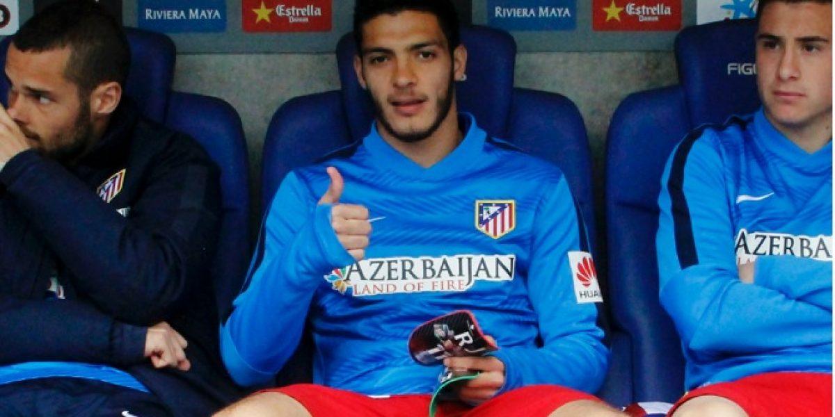 Raúl Jiménez del Atlético de Madrid: