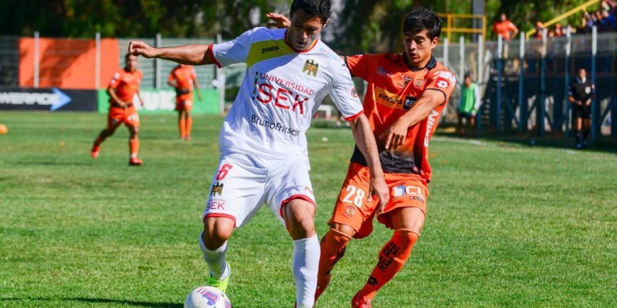 Cobreloa rescató un agónico empate frente a Unión Española