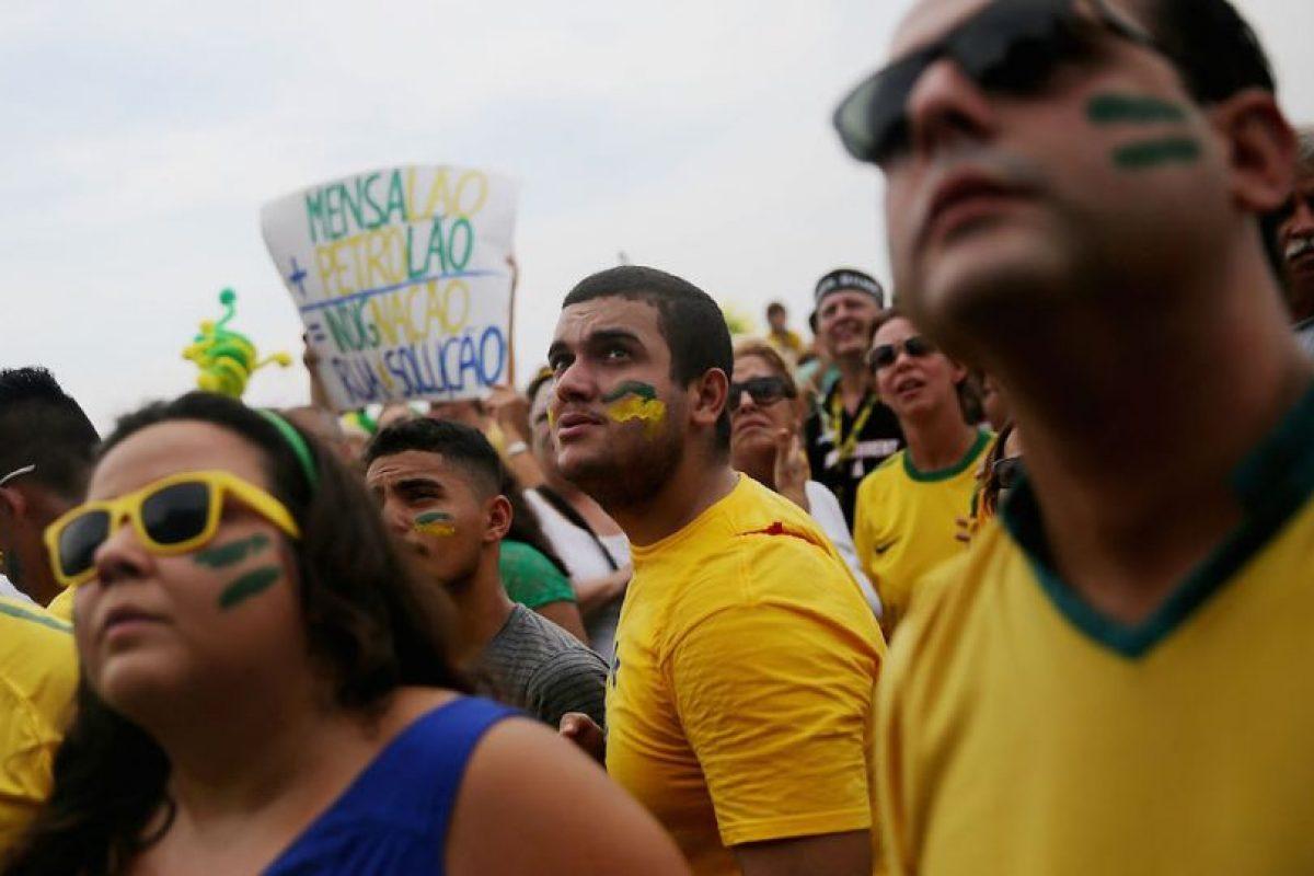 Más de un millón de brasileños salieron a las calles. Foto:Getty Images. Imagen Por: