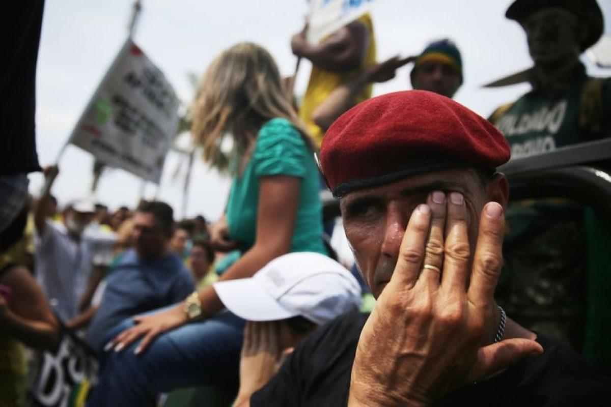Todo se debe a un escándalo de corrupción en Petrobras. Foto:Getty Images. Imagen Por: