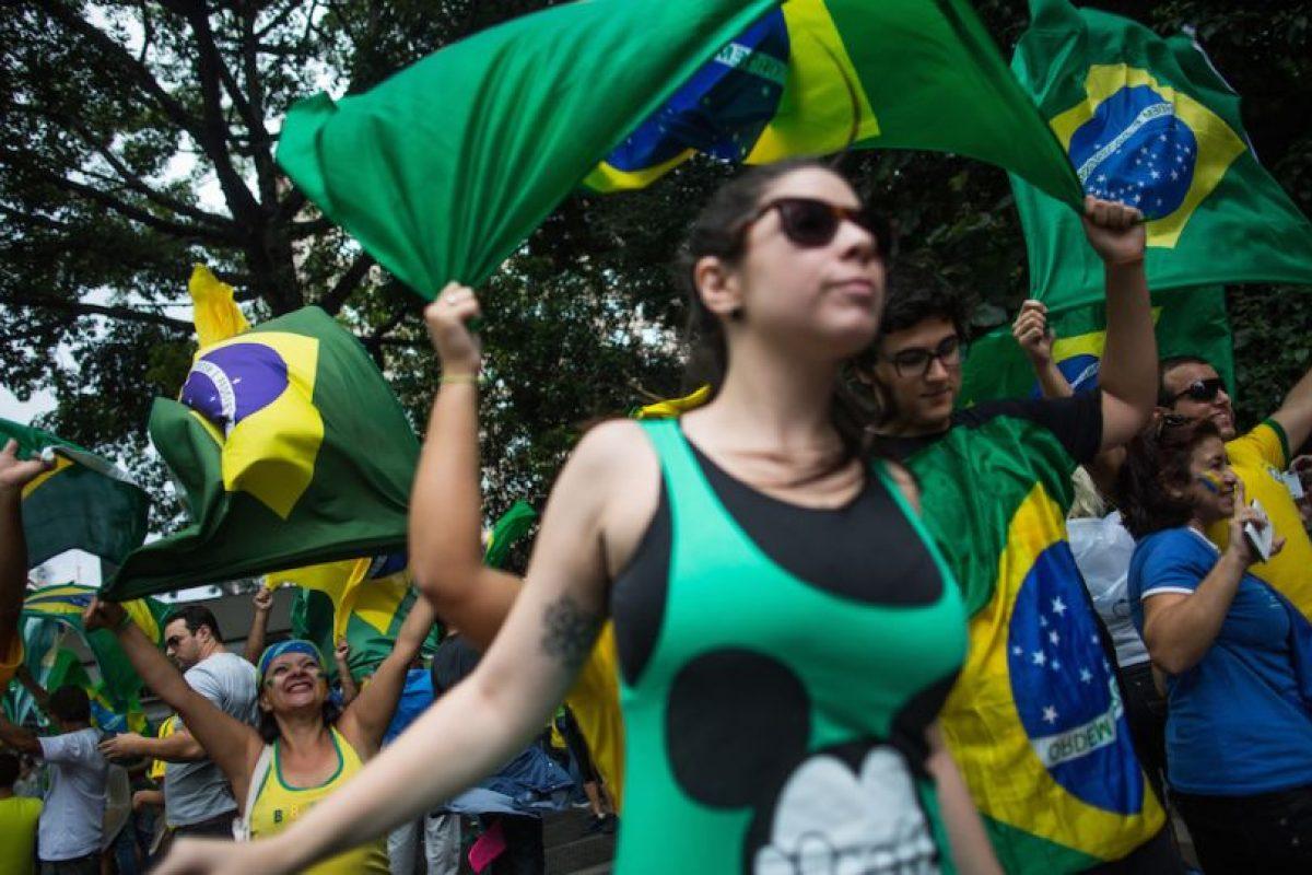 Los ciudadanos brasileños rechazan al gobierno. Foto:Getty Images. Imagen Por:
