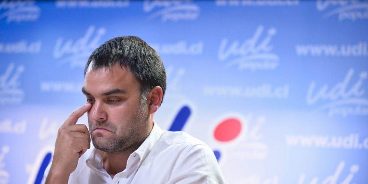 Comisión Política de la UDI resuelve hoy si Javier Macaya sigue como presidente