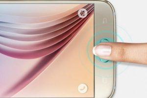 Samsung Galaxy S6 tiene un nuevo detector de huellas dactilares para realizar pagos electrónicos y desbloquear el equipo, aunque no presenta mejorías respecto al empleado en el Galaxy S5. Foto:Samsung. Imagen Por:
