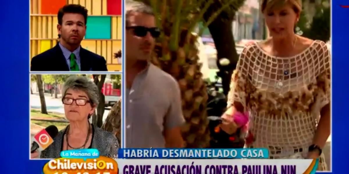 La grave acusación que enfrenta Paulina Nin de Cardona