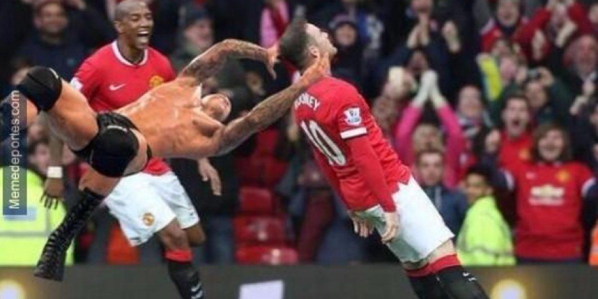 MEMES: Por este motivo Wayne Rooney festejó alocadamente