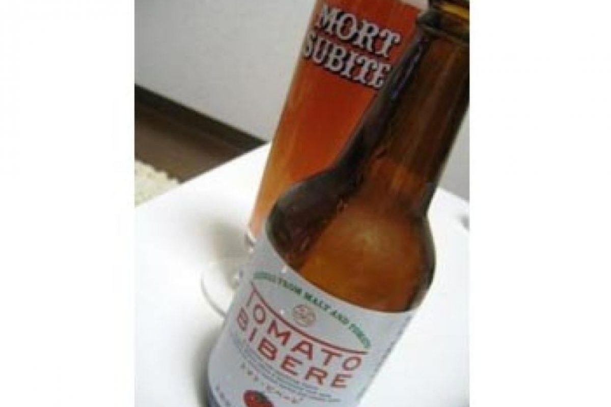 1. Tomato Bibere. Con sabor a tomate. Es fabricada en Japón. Imagen Por: