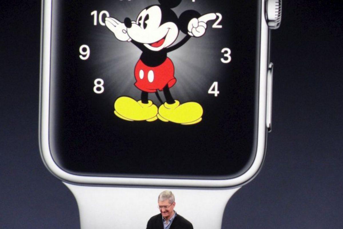 El 24 de abril saldrá a la venta el reloj de Apple en EU. Foto:Getty. Imagen Por: