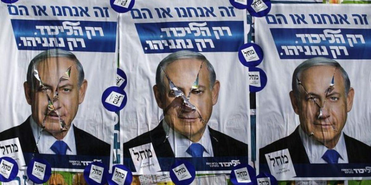 Israel: Polémico post de Netanyahu lo deja al borde de perder las elecciones