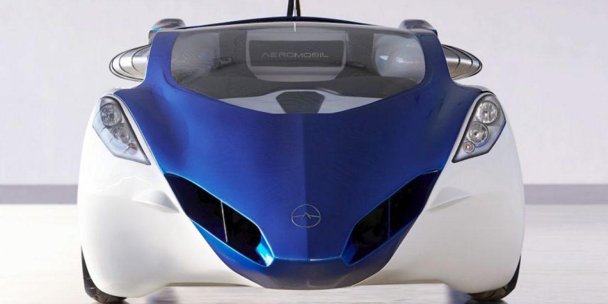 FOTOS: El primer automóvil volador está listo para venderse en 2017