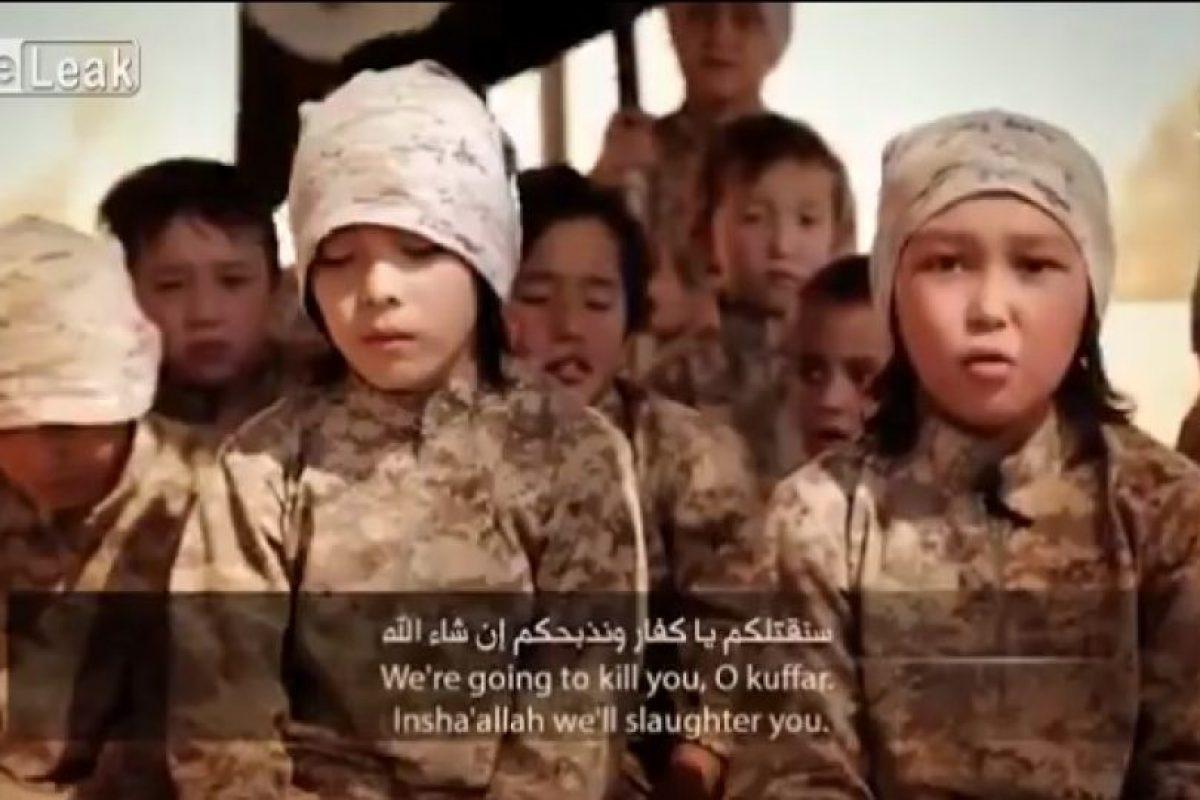 Son entrenados para participar en actos terroristas Foto:Twitter. Imagen Por: