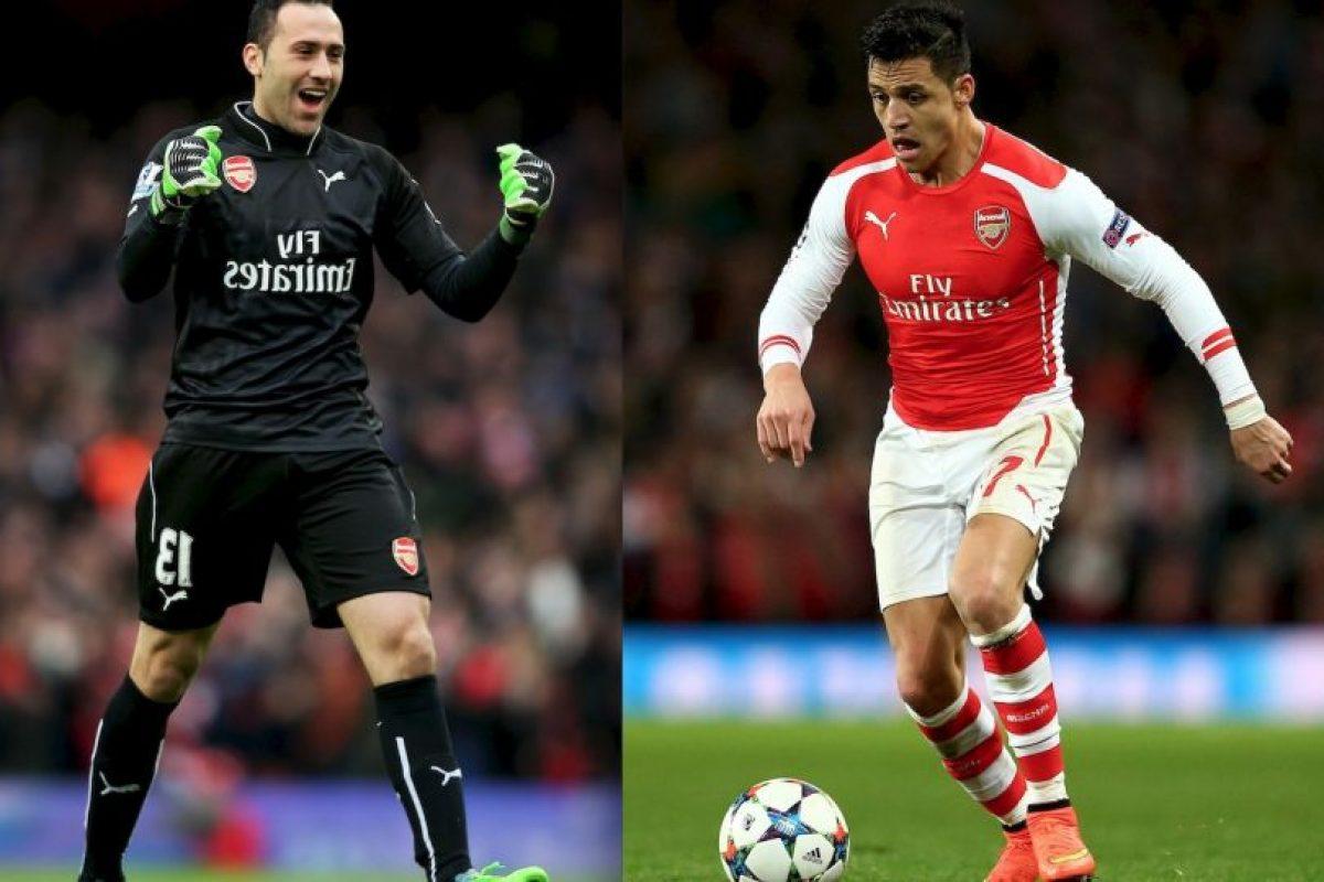 David Ospina y Alexis Sánchez buscaran remontar para acceder a cuartos. Foto:Getty Images. Imagen Por: