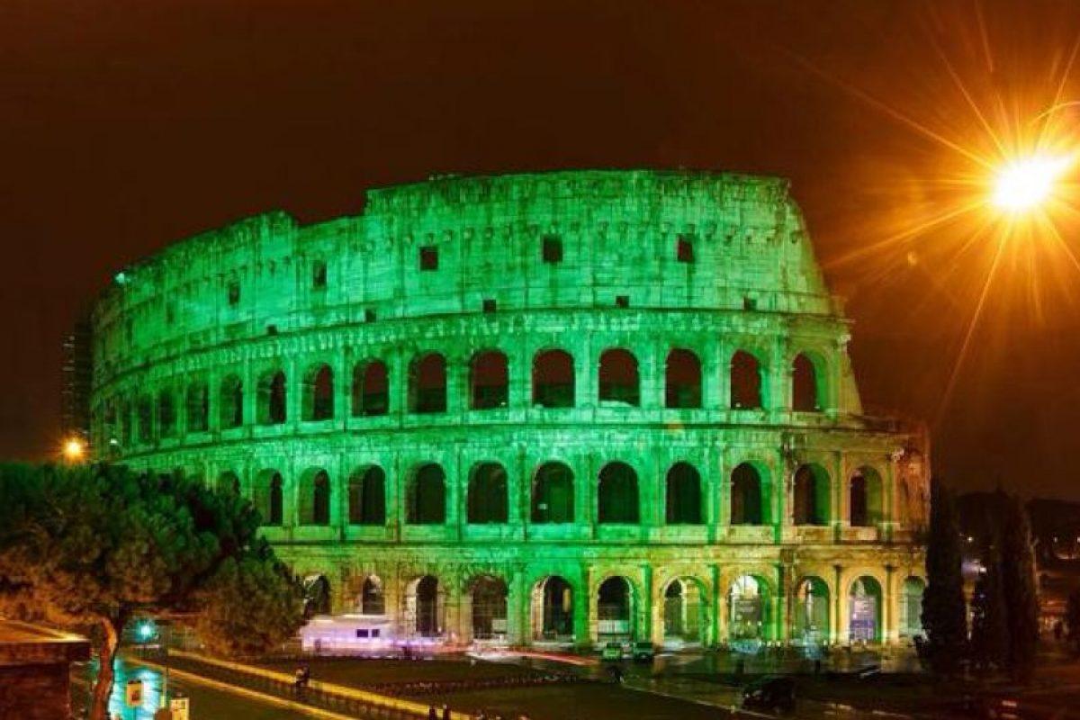 Coliseo Romano – Italia Foto:Twitter @IrelandEmbGB. Imagen Por: