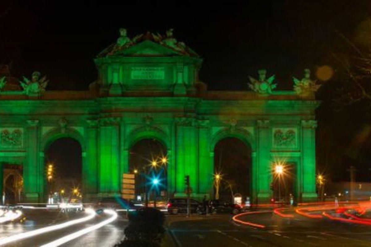 Puerta de Alcalá – Madrid, España Foto:Twitter @TourismIreland. Imagen Por: