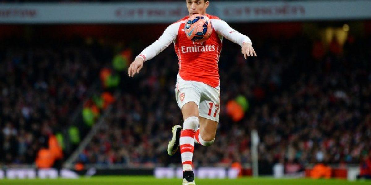 Alexis y el Arsenal van por la hazaña para seguir con vida en la Champions