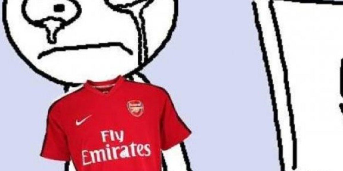 MEMES: Las burlas por sufrimiento y eliminación del Arsenal
