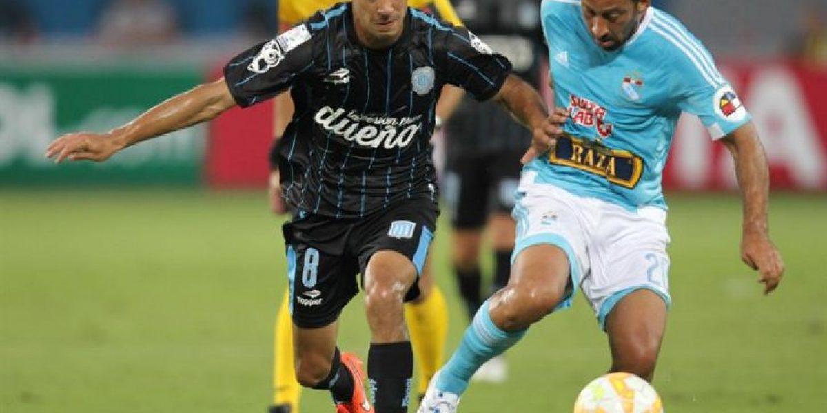 Con Videla anotando un golazo Racing se vengó de Sporting Cristal a domicilio