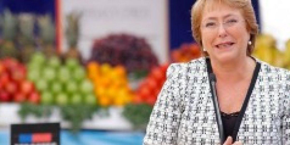 Bachelet anunció inversión de $1.670 millones para modernización de ferias libres en 2015