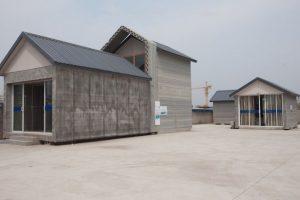 Éstas son las casas que una empresa china fabrica con ayuda de la inmpresión 3D Foto:Getty. Imagen Por: