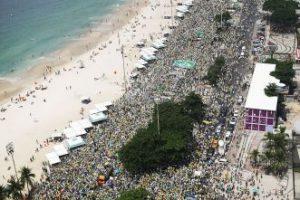 Del total, 71% votó a favor de Dilma Rousseff en la segunda vuelta de las elecciones presidenciales en 2014. Foto:Getty Images. Imagen Por: