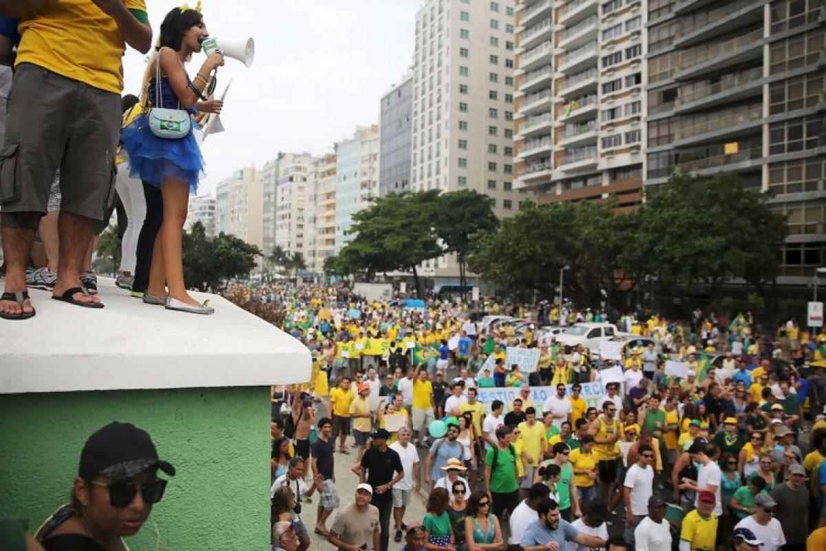 El Datafolha estima que 210.000 personas asistieron al evento Foto:Getty Images. Imagen Por: