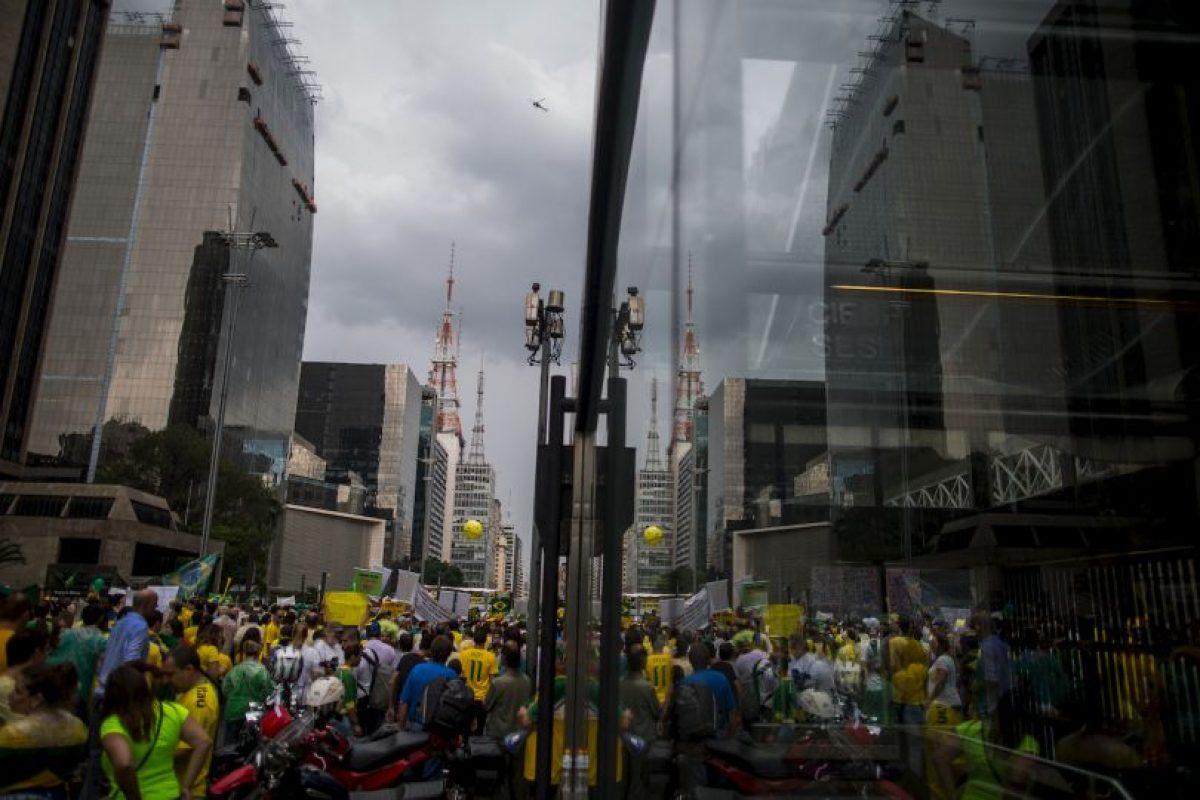 """Hay que hacer cambios en la humildad del país. En un sistema democrático, la manifestación son legítimas y, muchas veces, hasta necesarias"""", dijo Temer. Foto:Getty Images. Imagen Por:"""