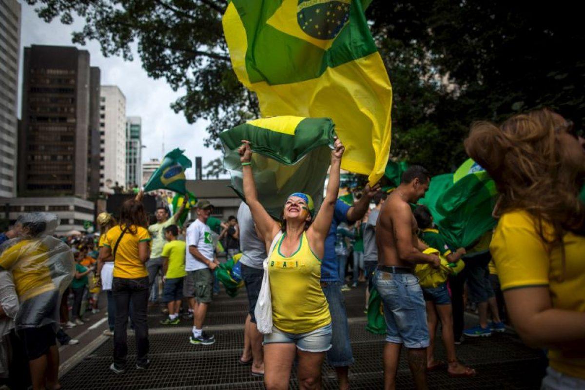 Él cuestionó el facto de Dilma de tener elegido los ministros José Eduardo Cardozo (Justicia) y Miguel Rossetto (Secretaría General de la Presidencia) como portavoces en el último domingo, durante las protestas. Foto: Getty Images. Imagen Por: